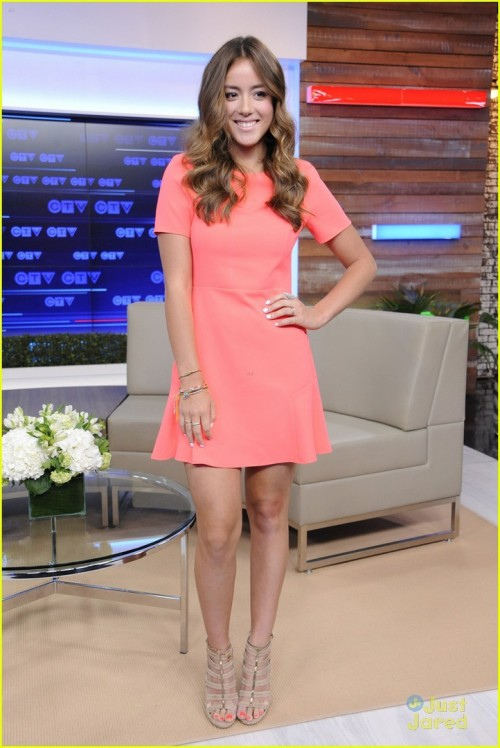 CTV Upfront 2014 Press Conference.Featuring: Chloe BennetWhere: Toronto, CanadaWhen: 05 Jun 2014Cred