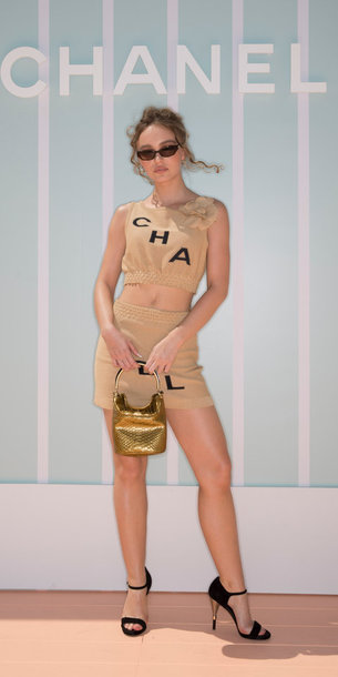 BANGKOK, THAILAND - OCTOBER 31: Lily Rose Depp attends the Chanel Cruise 2018/19 Replica Show at Ser