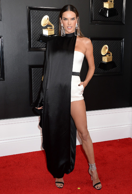 Pictured: Alessandra Ambrosio<br>Mandatory Credit  Gilbert Flores /Broadimage<br>62nd Annual Grammy